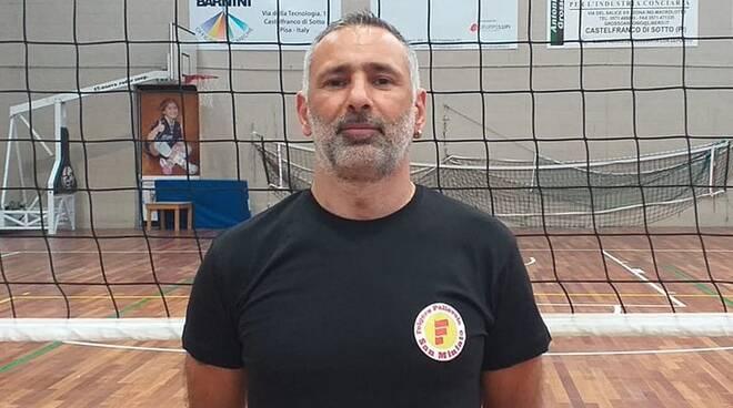 Teodoro Fischetto, allenatore Folgore San Miniato
