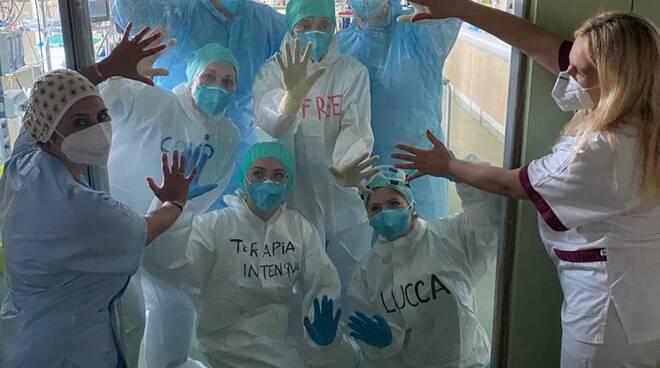 terapia intensiva covid free San Luca Lucca