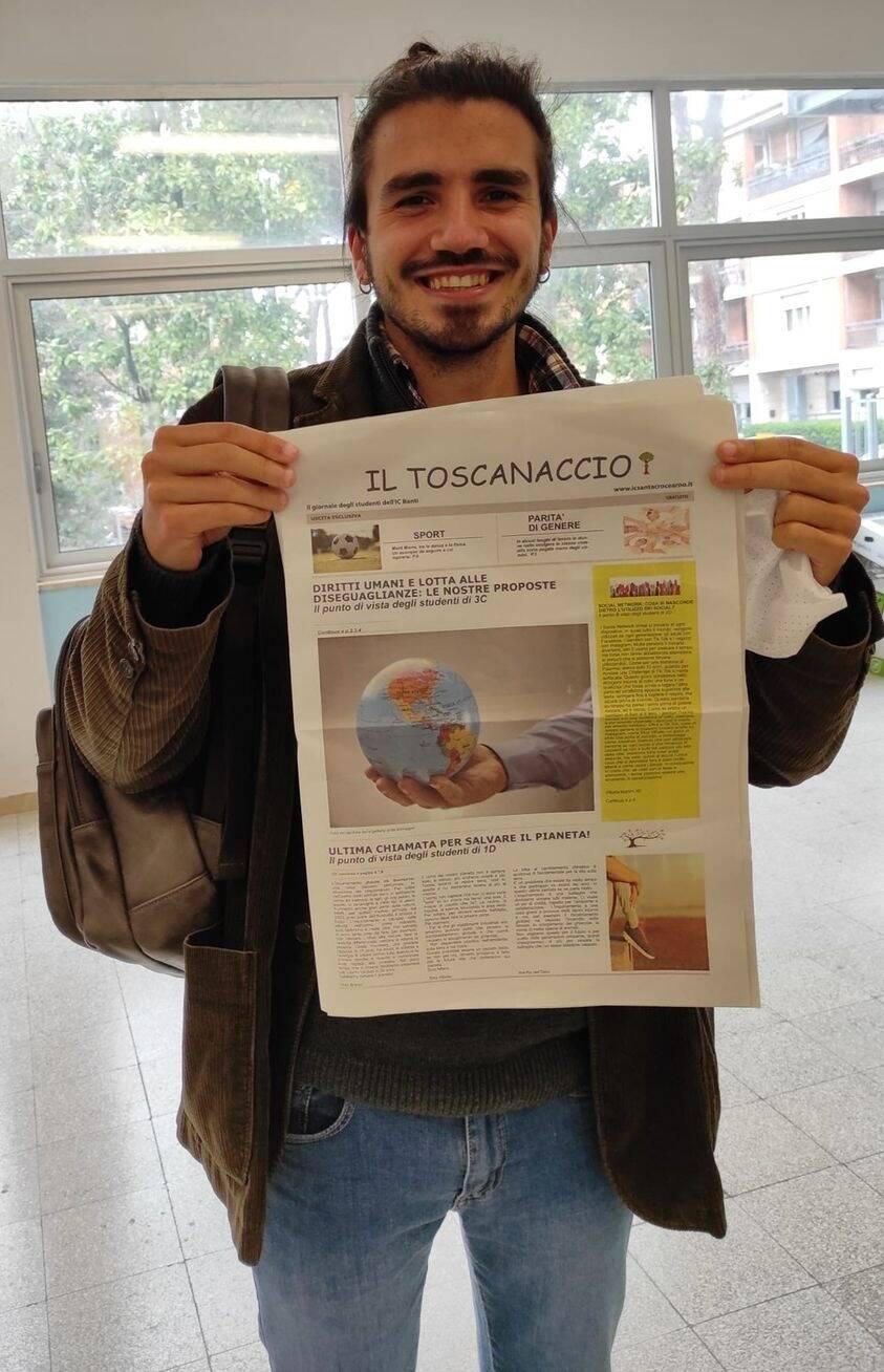 Toscanaccio istituto comprensivo Santa Croce sull'Arno giornale