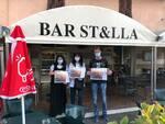 Tovagliette Fratres Pisa sensibilizzazione donazione sangue