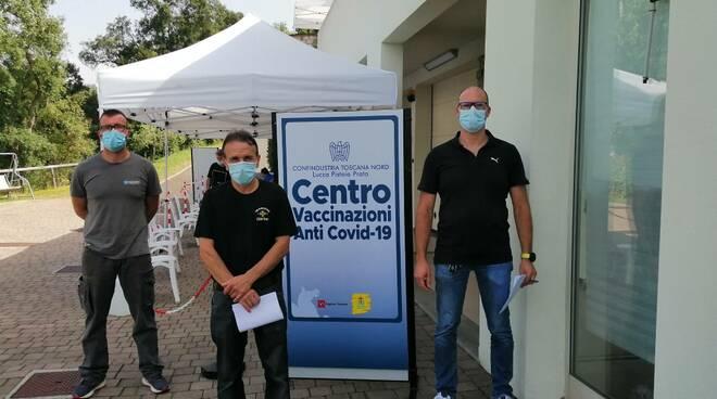 vaccinazione Confindustria Toscana Nord aziende Montecarlo