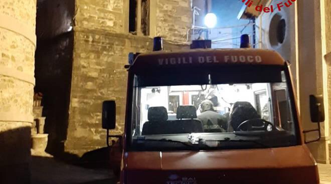 vigili del fuoco ritrovamento anziano Pania di Corfino