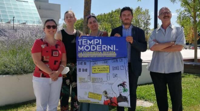Aldes rassegna Capannori 'Tempi moderni' presentazione