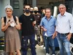 Anna Paola Concia in visita da Ivo Mancini