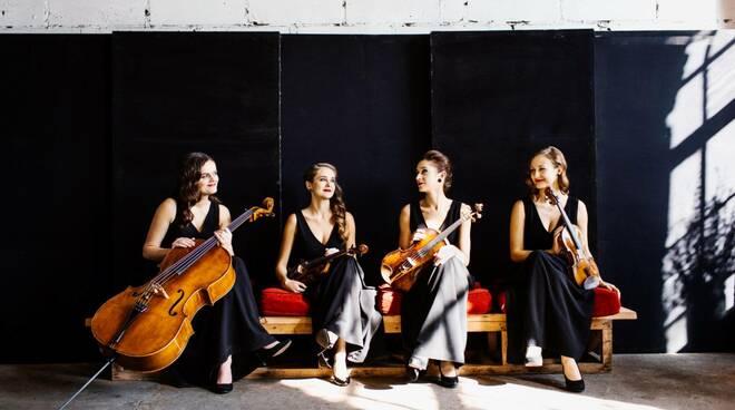 Ãtma Quartet foto di Anita Wąsik-Płocińska