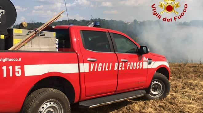 Badiola podere Santa Maria incendio Terranuova Bracciolini