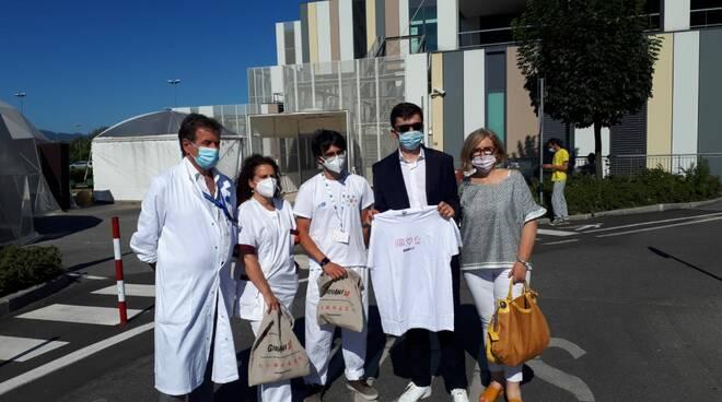 Bernard Dika ospedale San Luca Lucca