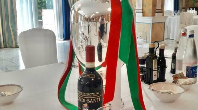 Brunello di Montalcino alla cena della nazionale italiana
