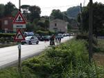 Incidente auto moto via sottomonte capannori 24/07/2021