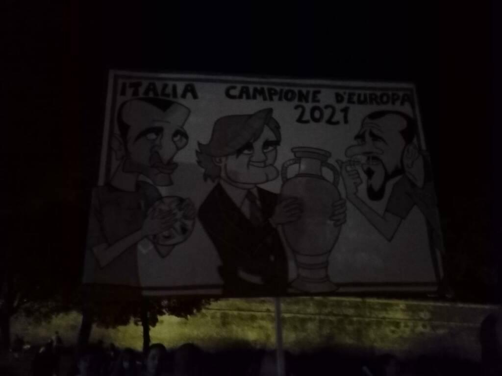 caricatura nazionale euro 2020 Lucca