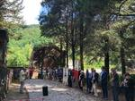 celebrazioni caduti civili partigiani Bagni di Lucca