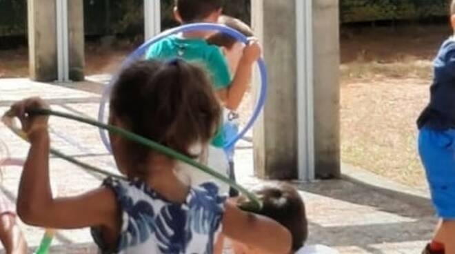 Centri estivi, bambini