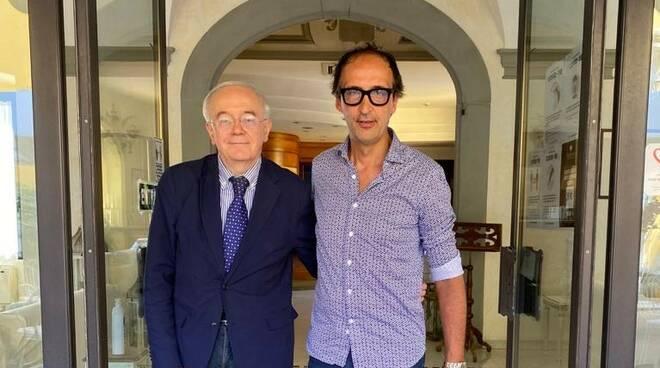 Cesare Andrisano e Giovanni Mori