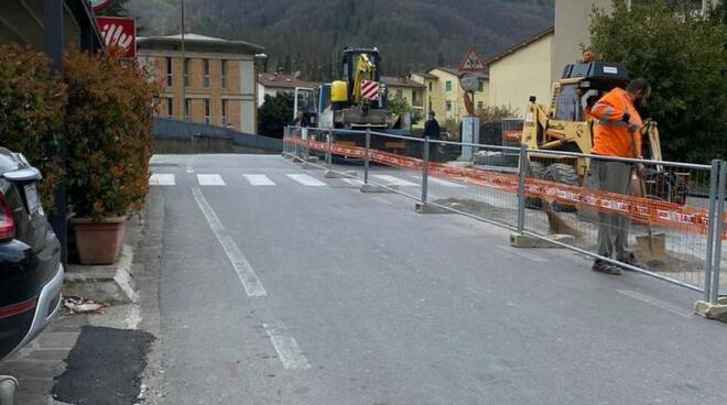 Chiusura via Fabrizi a Castelnuovo