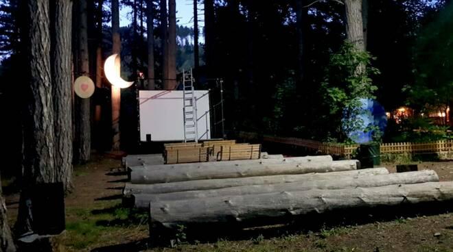cinema nel bosco Minucciano