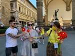 Coldiretti fiori della Versilia a Firenze