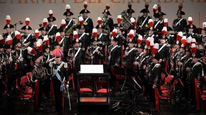 concerto banda musicale dell'arma dei carabinieri