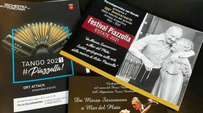 Concerto in onore di Astor Piazzolla a Villa Collemandina