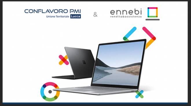 Conflavoro Pmi Lucca convenzione Ennebi Computer