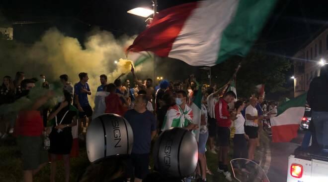 Festa a Fucecchio per la vittoria della nazionale