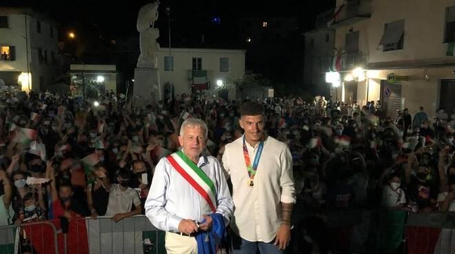 festa per Di Lorenzo a Ghivizzano