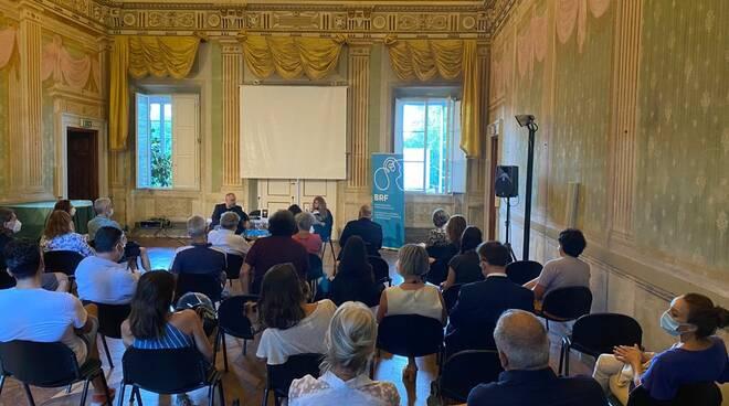 Fondazione Brf Andrea Crisanti targa Lucca in Mente
