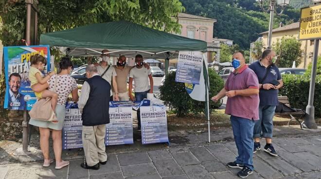 Gazebo Lega Mediavalle e Garfagnana
