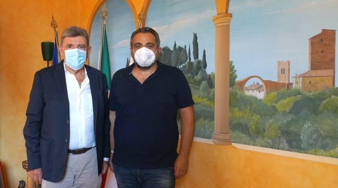 Giovanni Capecchi e Alessandro Varallo