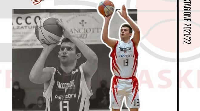 Giulio Candotto Etrusca Basket stagione 2021-2022