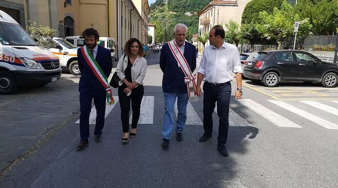 Inaugurazione museo della memoria Borgo a Mozzano