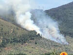 incendio Crespignano Calci