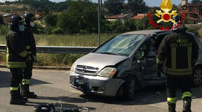 incidente auto Faella Castelfranco Pian di Sco'