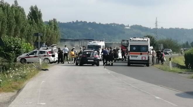 Incidente via Francesca bis Ponticelli 23 luglio 2021