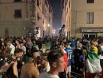 Italia campione d'Europa festeggiamenti a Lucca