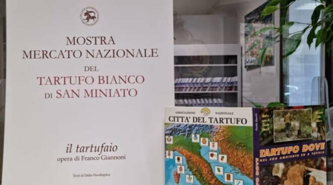 Libro tartufo San Miniato promozione