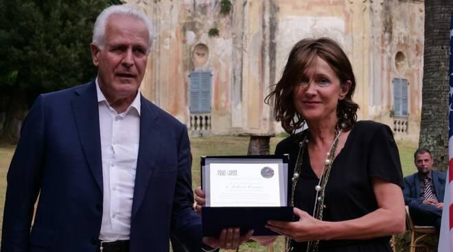 Maria Letizia Casani e Eugenio Giani