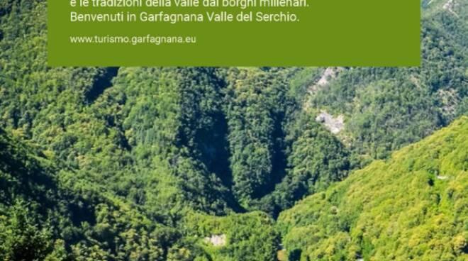 miniguida promozione ambito turistico Garfagnana