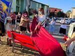 Panchina rossa Fucecchio Porta Raimonda