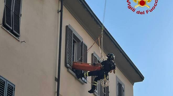 persona caduta in casa a Arezzo