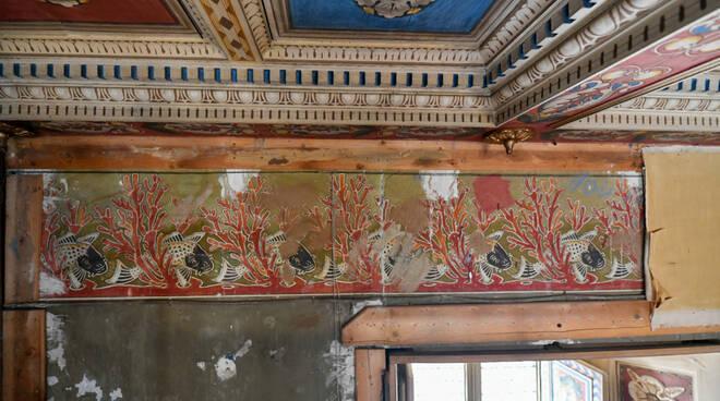 pittura Villa museo Giacomo Puccini