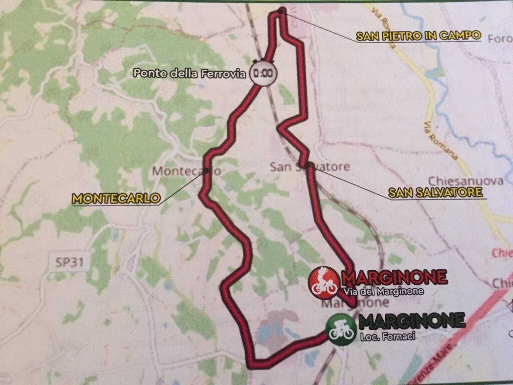Presentazione dei campionati italiani di ciclismo Allievi a cronometro Marginone