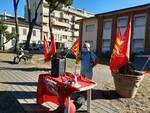 presidio sinistra radicale no Keu Santa Croce sull'Arno