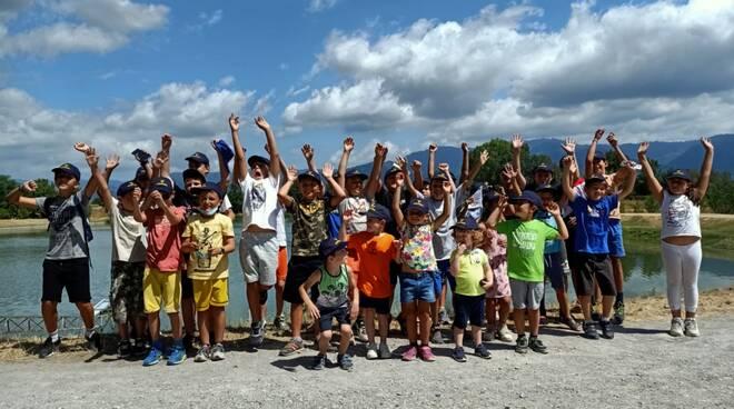 scuola pesca gara Lenza Sportiva Sant'Alessio