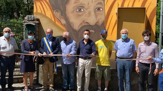 Street art su impianti Enel Castelnuovo