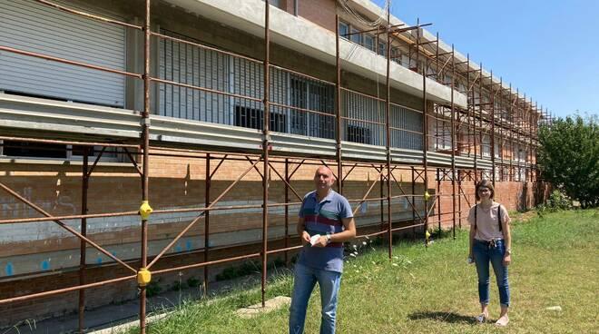 Toti e Duranti scuole piazza Mazzini Castelfranco