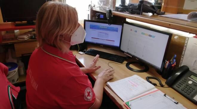 volontaria croce rossa Bagni di Lucca