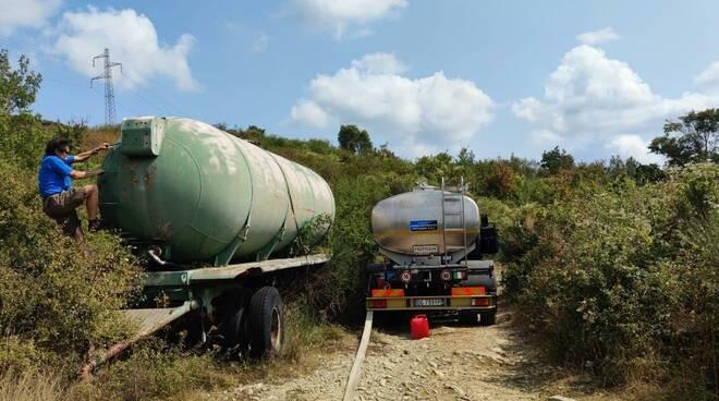 Allarme siccità in Calvana