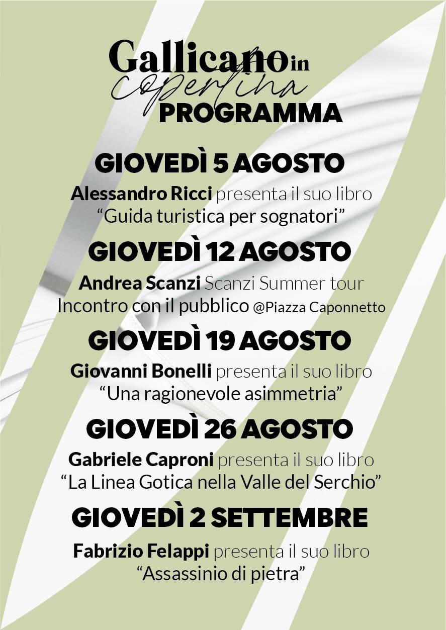 Andrea Scanzi Gallicano in copertina