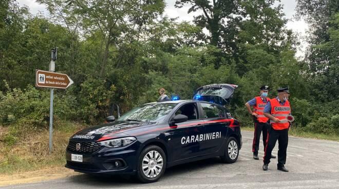 bliz alle Cerbaie dei carabinieri