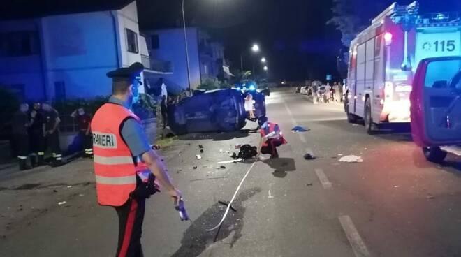 carabinieri follonica incidenti alcol e droga